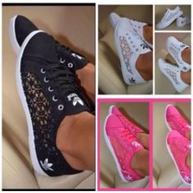 chaussure adidas femme en dentelle